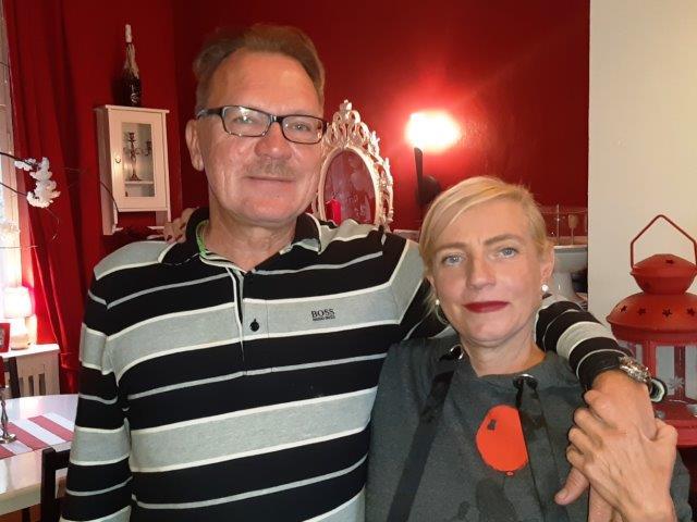 Unser Ökonomie-Paar Manuela Geske und Uwe Sturm